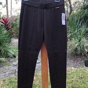 NWT Michael Kors size S brown spandex pants